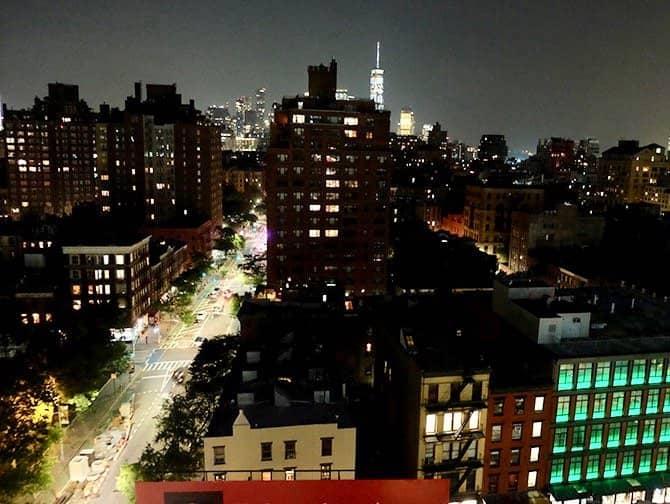 West Village New York - Night View