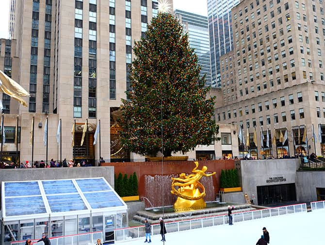 Neighbourhood Midtown Manhattan - Rockefeller Rink