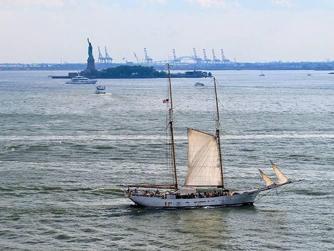 Tall Ship Sailing Cruise - Statue of Liberty