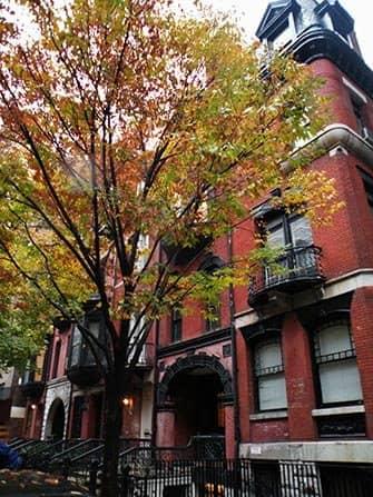 Upper East Side in New York - Houses on Lexington Avenue