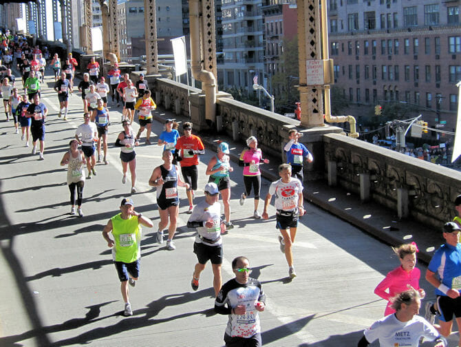 Marathon in New York