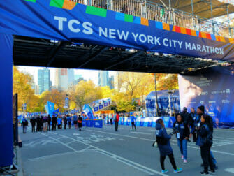 New York Marathon - Finish