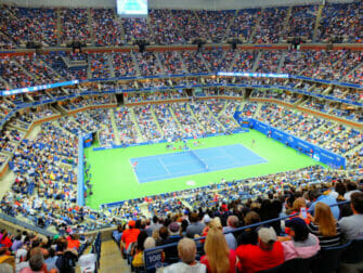 Queens in New York US Open