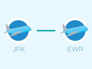 Transfer From JFK to Newark or Newark to JFK
