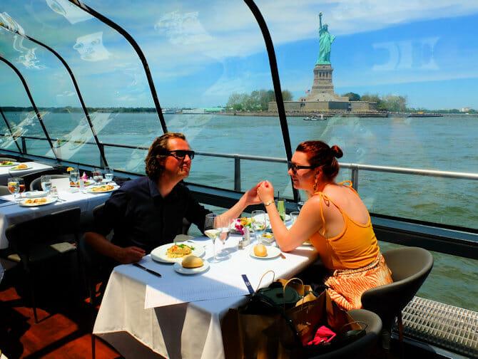 Valentine's Dinner Cruises in New York - Statue of Liberty
