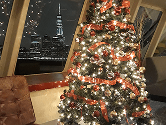Christmas Eve Dinner Cruises in New York - Christmas Tree