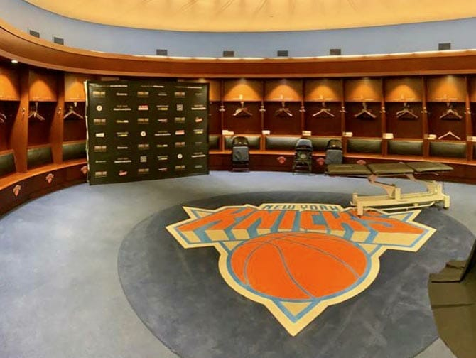Madison Square Garden in New York - All Access Tour Knicks