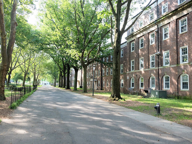 Governors Island in New York - Houses