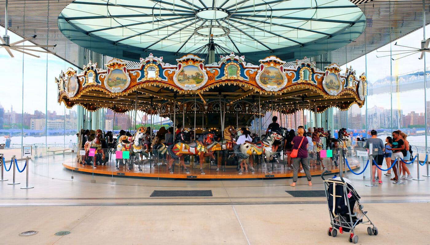 Jane's Carousel in Brooklyn - The Carousel