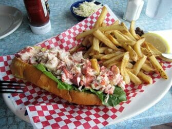 Lobster roll in Boston Trip from New York
