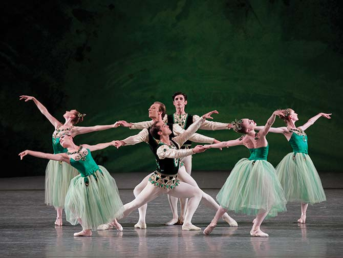 New York City Ballet tickets - Serenade in Green