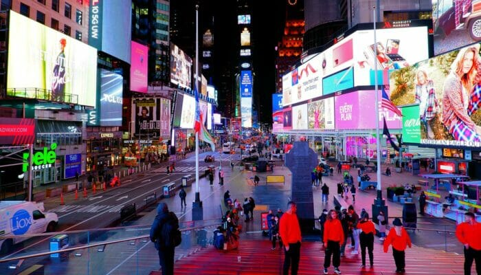 Theater District in New York - Times Square