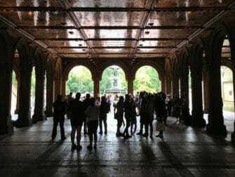 Central Park in New York - Bethesda Terrace