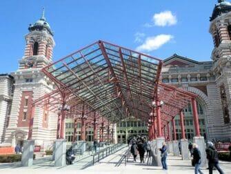 Ellis Island in New York Museum Entrance