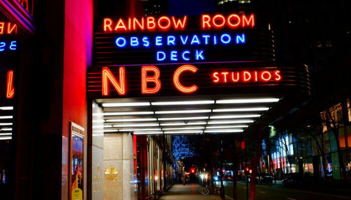 Rockefeller Center in New York NBC