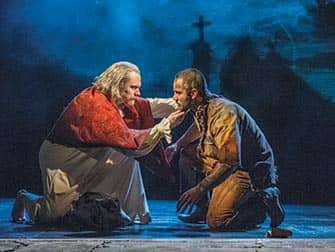 Les Miserables the musical on Broadway
