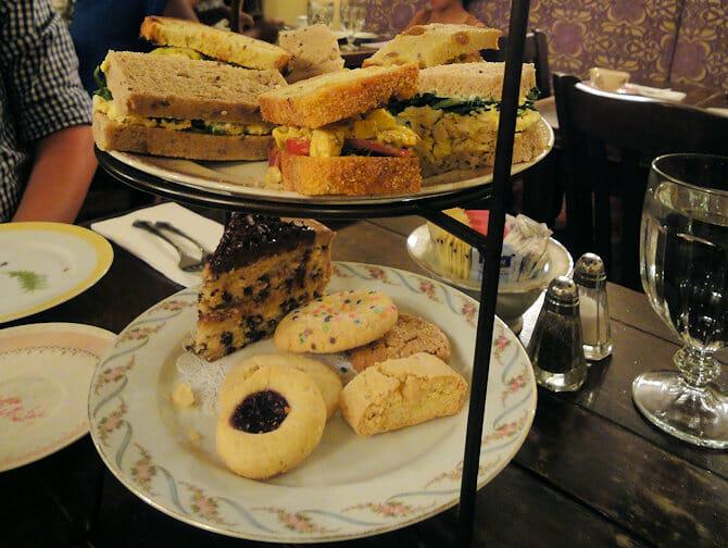 Alice's Tea Cup in NYC - High Tea