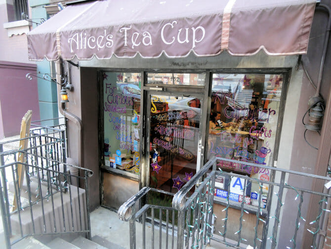 Alice's Tea Cup in Upper West Side in NYC