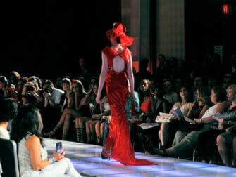 Couture Fashion Week in NYC Andres Aquino