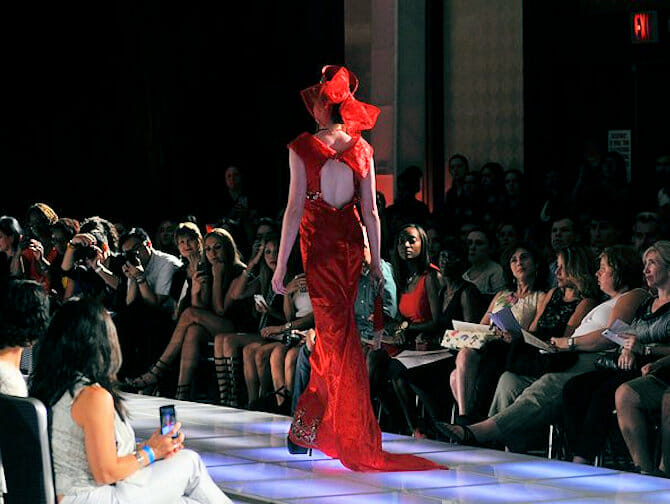 Couture Fashion Week in NYC - Andres Aquino