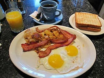 Theatre Row Diner in NYC - Breakfast
