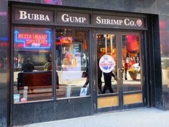 Theme Restaurant in New York - Bubba Gump