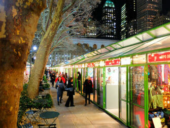 New York Markets - Bryant Park Decorations