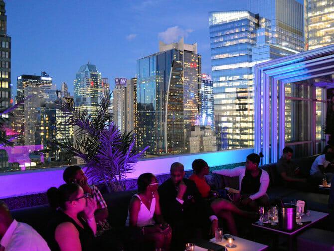Skyroom in New York - View
