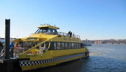 Water taxi New York