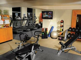 Double Tree Suites New York Fitness Room