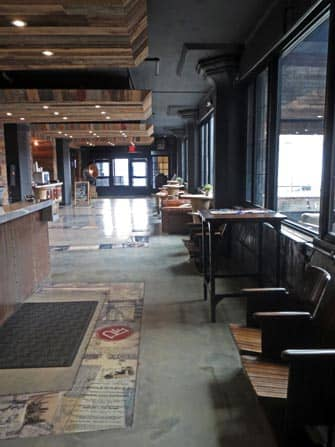 Inside The Paper Factory Hotel in Long Island City