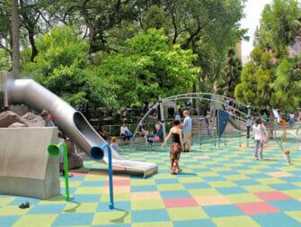 Union Square Playground in New York