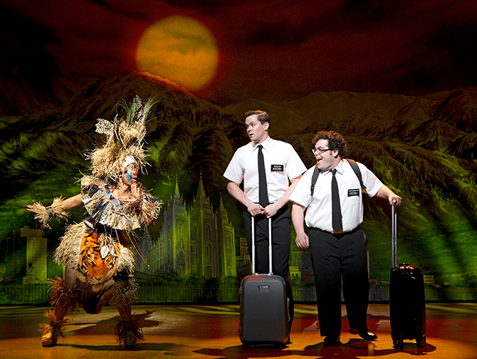 The Book of Mormon on Broadway Tickets - Arnold and Kevin