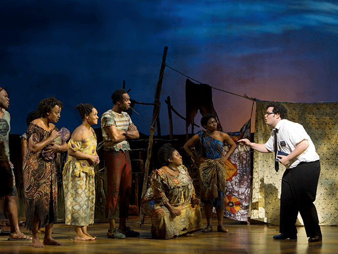 The Book of Mormon on Broadway Tickets - In Uganda