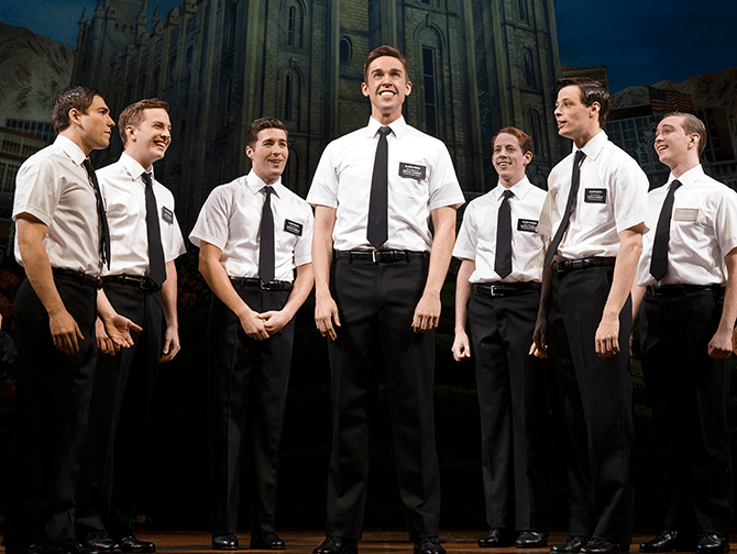 The Book of Mormon on Broadway Tickets - Missionaries