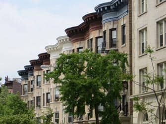 Brooklyn Tour - Prospect Park houses