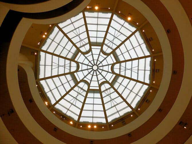 Guggenheim Museum in New York - Inside