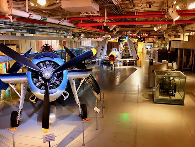Intrepid Sea, Air and Space Museum in New York - Inside the Museum