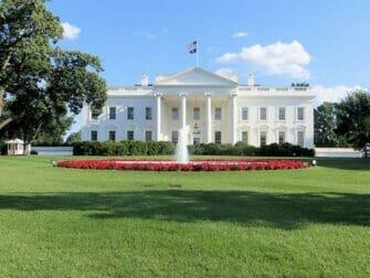New York to Washington D C by Train Day Trip White House