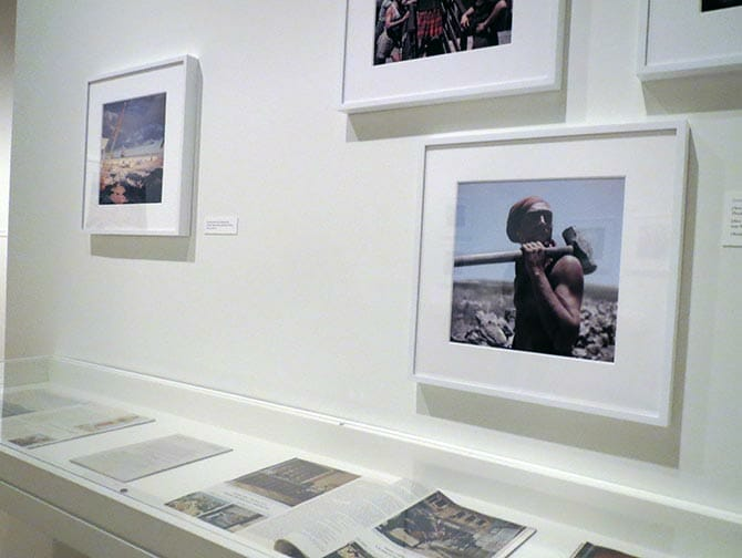 The International Center of Photography in New York - Exhibit