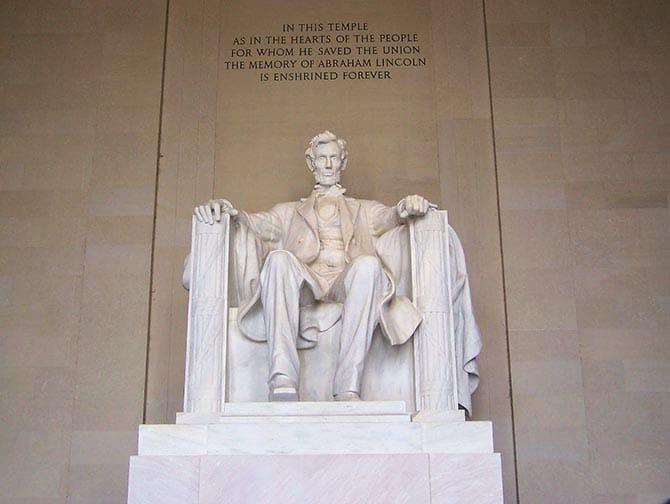Washington Lincoln Memorial