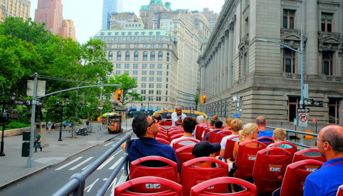 Hop on Hop off Bus in New York - Sightseeing