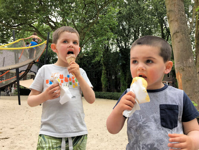 Dining with kids in New York