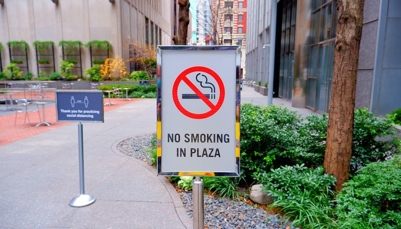 Smoking in NYC - No Smoking in Parks