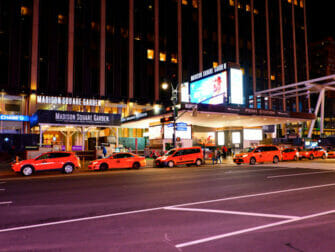 Madison Square Garden in NYC - Billboard