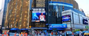 Madison Square Garden in New York