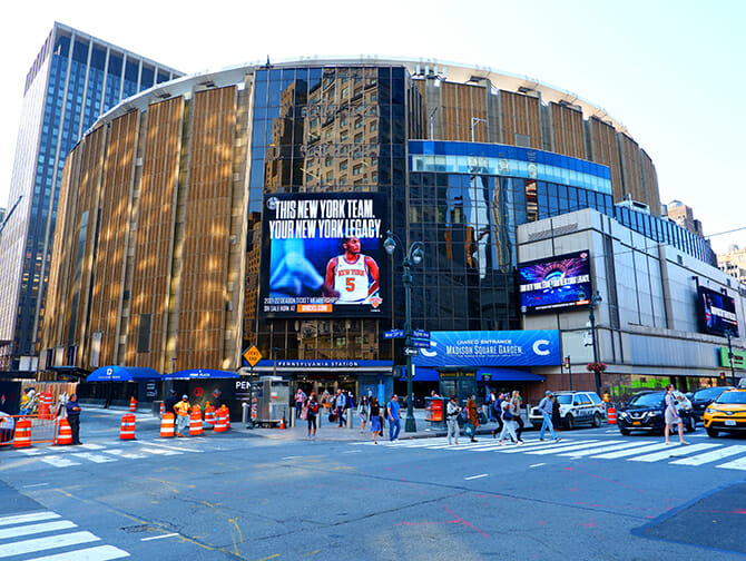 Madison Square Garden in New York