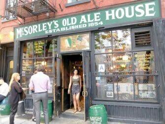 Hidden (speakeasy) bar tour in New York - McSorleys