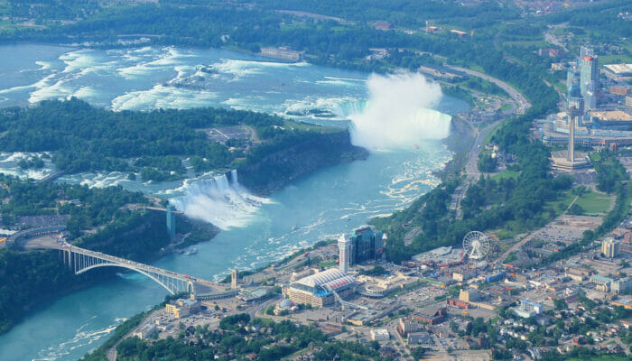 Niagara Falls by Private Plane Day Trip - View from the plane