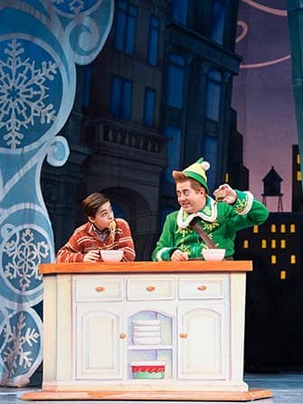 Elf the Christmas Musical Tickets - Dinner